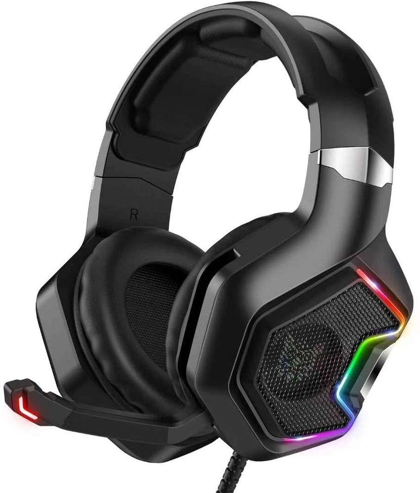 Diadema, Auriculares GAMER /ONIKUMA K10pro para juegos para PS5, PS4, Xbox Series X   S y Xbox One Games