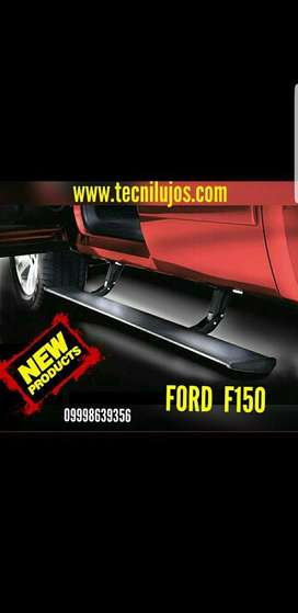 Estribo Electrico Ford F 150 Instalado.