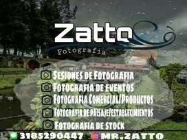 Zatto Fotografía. Sesiones fotograficas y de eventos.