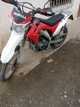 Moto igm para enduro 250 .6 marchas con enfriador de aceite