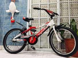 Bicicleta bmx marca raleigh rodado 20 aluminio sin uso