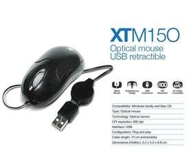 Venta de mouse rectractil USB