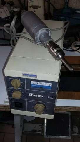 Equipo de ultrasonido, alta frecuencia, soldador de ultrasonido completo