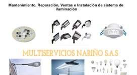 Instalación de sistemas de iluminacion