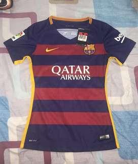 Barcelona Fc Camisa de Mujer Xs Original