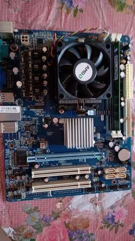 Placa +  procesador ATHLOM X2. 250