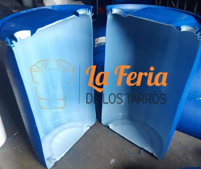 Medicanoa plastica para comederos o bebedero ganado de 55 gls 0