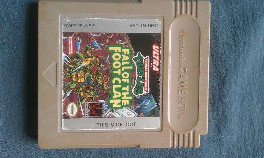 Juego Game Boy - Tortugas Ninja 0