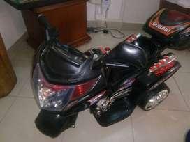 Moto con batería