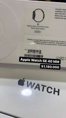 Apple watch SE 40 y 44 MM