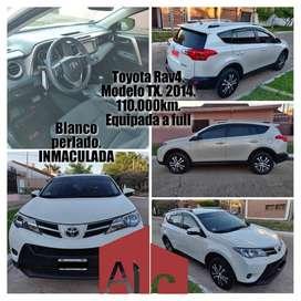 VENDO Toyota Rav4. Modelo TX. Año 2014.