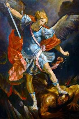 lienzo del Arcangel San Miguel