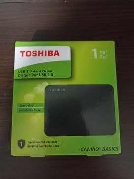 Disco duro 1Tb nuevo Toshiba