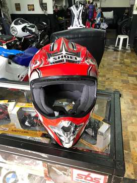 shoei motocross talla M