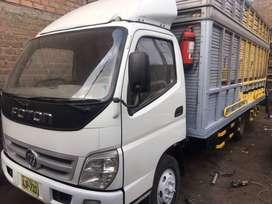 Vendo Camion Foton, aumark año 2015, carga útil es de 4900 kg