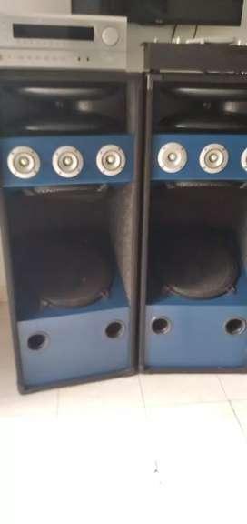 Planta de  sonido con mezclador gemini