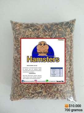 Comida para Hamster, Jerbos Y Ratas.