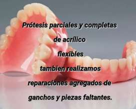 Prótesis parciales completas - Flexibles
