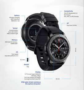 Samsung Gear S3 Frontier (uno En $260 Los Dos Por $500)