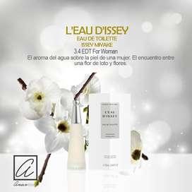 PERFUME L EAU DISSEY ISSEY MIYAKE 100 ml. edt para damas