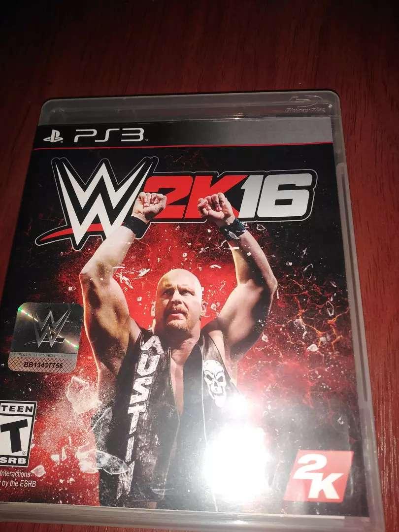 WWE 2K16 PS3 0