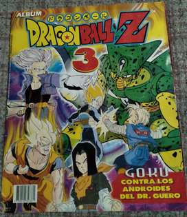Álbum de figuritas Dragon Ball Z 3