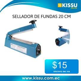 SELLADORA DE FUNDAS 20 CM