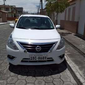 Nissan Versa 2016 version full, 44000 km.
