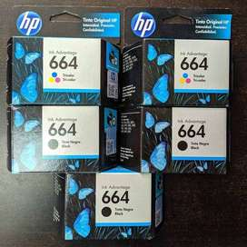 CARTUCHOS HP 664 ORIGINALES