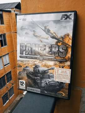 Vendo juego Panzers ll para PC