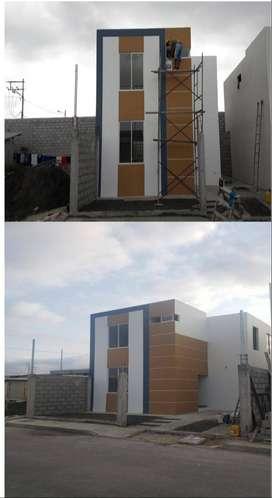 Casas a estrenar en Urbanizacion Renacer, Manta