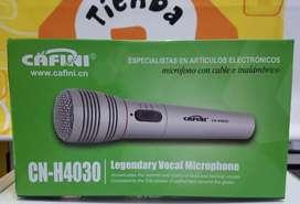 Micrófono inalambrico. Nuevos