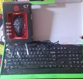 Vendo mouse y teclado Gaming