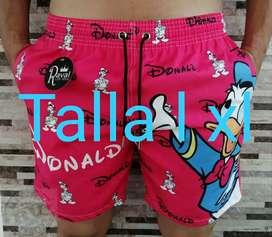 Pantaloneta en Dril para hombre