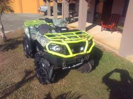 Cuadraciclo Kawasaki Brute Force 750