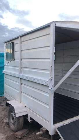 Vendo trailer batan se coloca la parte de arriba y queda casilla