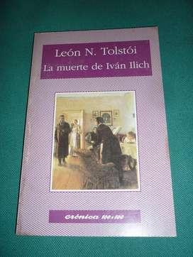 LA MUERTE DE IVAN ILICH . LEON TOLSTOI . LIBRO CRONICA 100x100