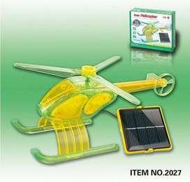 Juguete Helicóptero Solar Eléctrico Para Armar en Casa