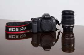 Kit Canon Eos 60d Y Lente 18-200mm
