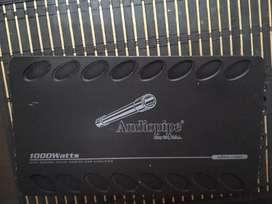 Amplificador audiopipe Clase D 1000watts