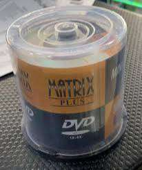 Mini Dvd - R Matrix Plus Virgen En - Unidad a $1298