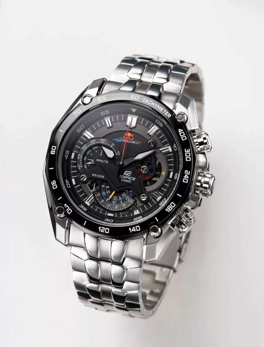 Reloj Casio Edifice Ef-550 Rbsp-1av Red Bull - 100% Nuevo 0