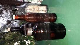 BOTELLAS ANTIGUAS SET X 4
