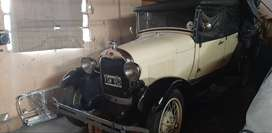 FORD A 29 DOBLE PHAETON DESCAPOTABLE, DE COLECCION, UNICO, IMPECABLE. LANUS OESTE