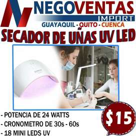 SECADOR DE UÑAS UV LED