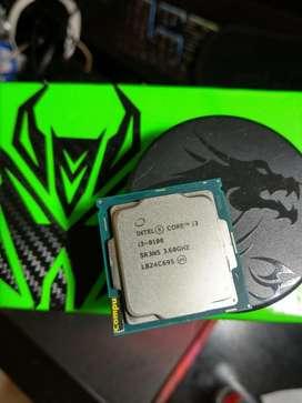 Procesador Intel Core I3 8100 8va Gen