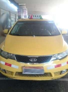 Taxi  en el Aeropuerto de Quito