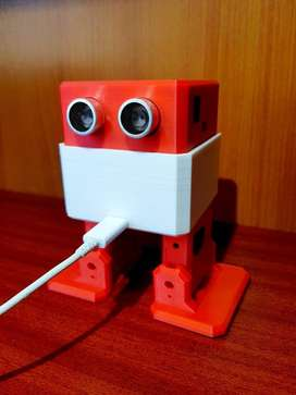 Robot Bipedo Otto, Recargable