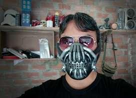 Máscara Bane enemigo de Batman ( para adulto )