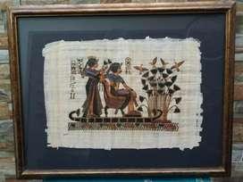 Vendo 5 cuadros Papiros Originales